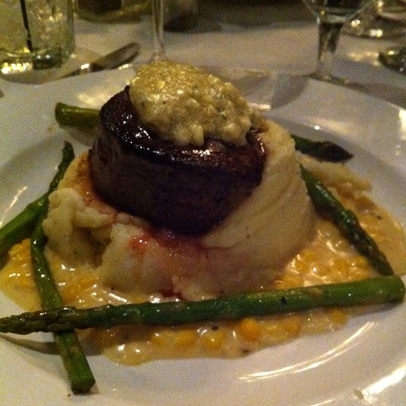 Seared Filet Mignon - Mere Bulles, Brentwood, TN