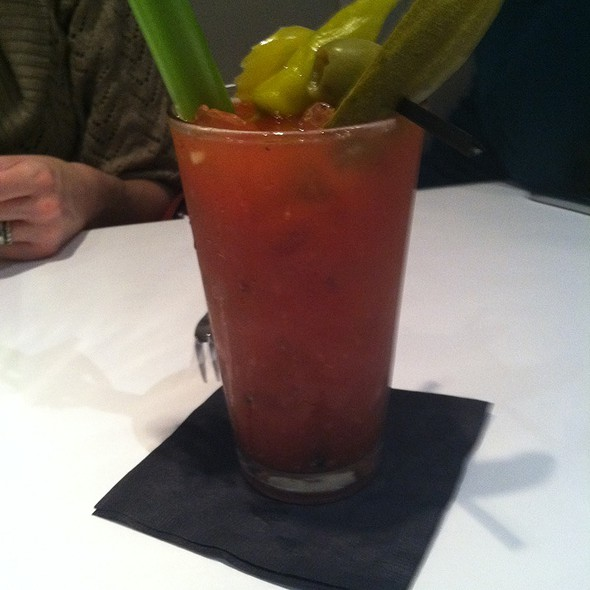 Spicy Bloody Mary - Due Amici, Columbus, OH