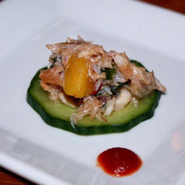 Crab Salad and Cucumber - Corner Kitchen, Asheville, NC