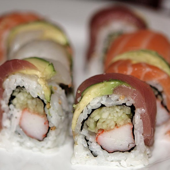 Rainbow Roll - Koto Japanese Steakhouse - VT, South Burlington, VT