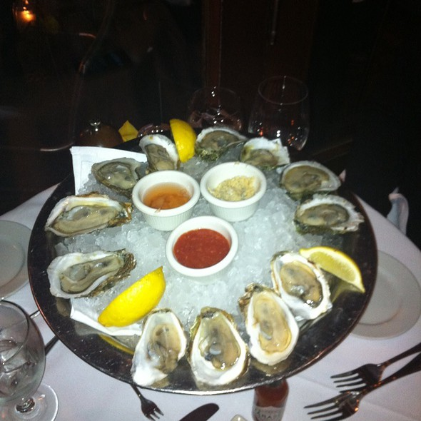 Oysters - Atlantic Fish, Boston, MA