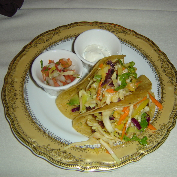 Grilled Fish Tacos - Bohanan's Prime Steaks and Seafood, San Antonio, TX