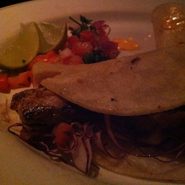 fish tacos - Simms Steakhouse, Golden, CO