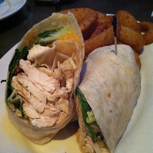 Chicken Citrus Wrap - Hudson Grille - Alpharetta, Alpharetta, GA