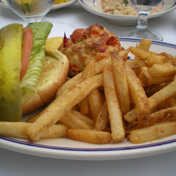 Lobster Burger - Landini Brothers, Alexandria, VA