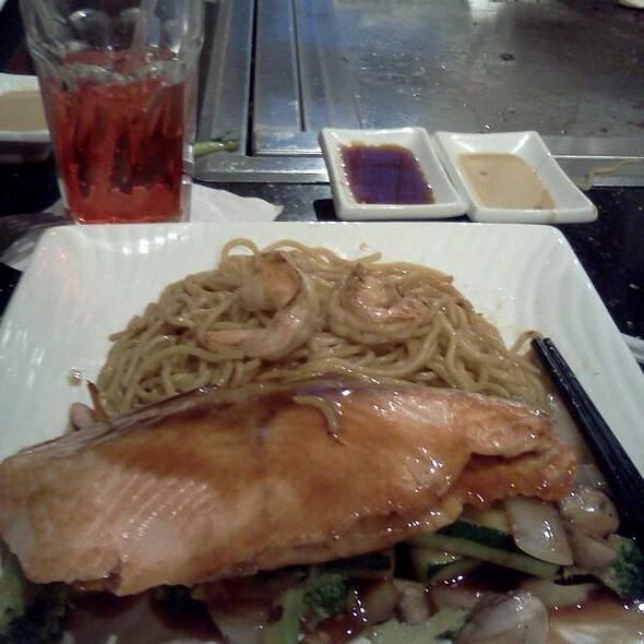 Salmon Habachi - Hana Japanese Steakhouse, Albany, NY