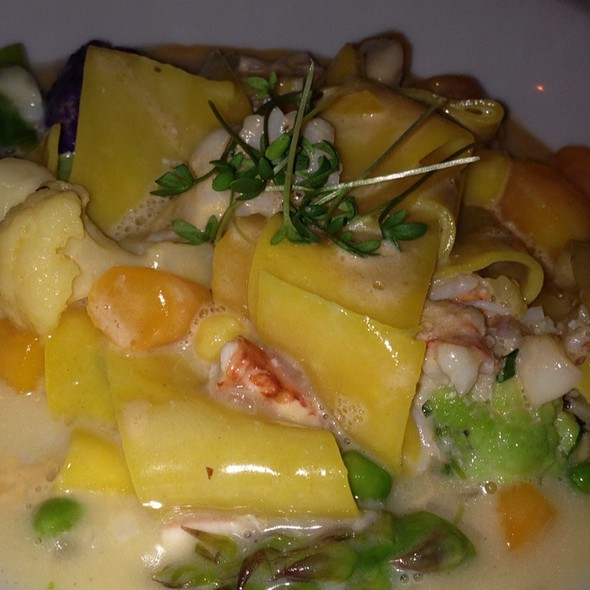 Lobster Paparadelle - Marcel's by Robert Wiedmaier, Washington, DC