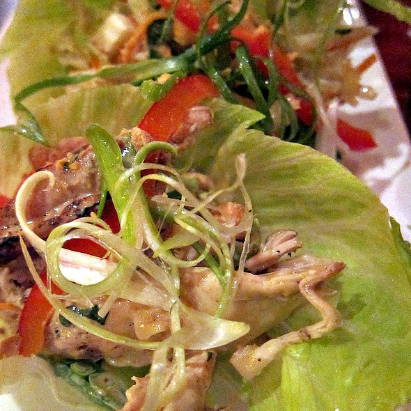 Thai Chicken Lettuce Wraps - Not Your Average Joe's Watertown, Watertown, MA