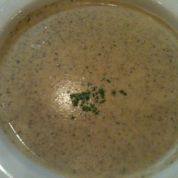 Homemade Cream Of Mushroom Soup - Cafe Miro, Honolulu, HI