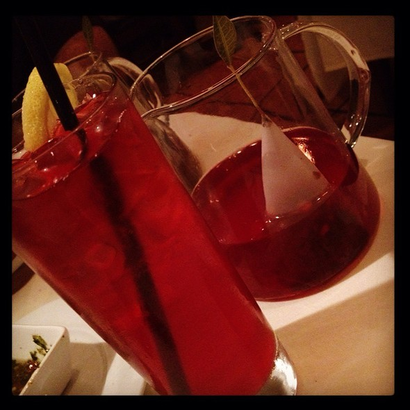 Raspberry Tea - Olivos Restaurant, Doral, FL
