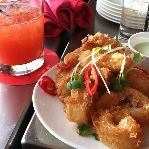 Fried Calamari - POV at the W Hotel Washington DC, Washington, DC