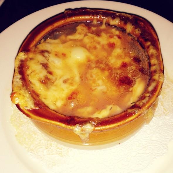 French Onion Soup - La Sirene, New York, NY