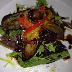 Burrata salad - Olio e Limone Ristorante, Santa Barbara, CA