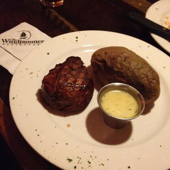 Filet Mignon - Windjammer Restaurant, South Burlington, VT