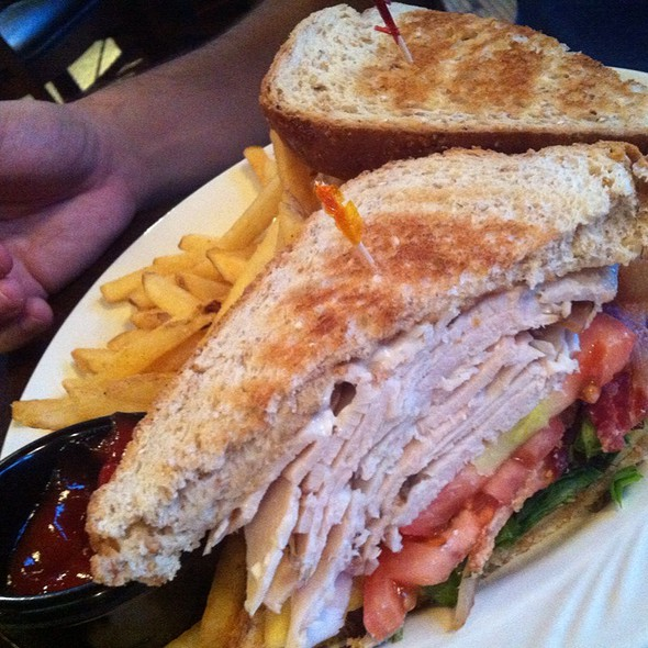 turkey club - TEN at the Eldridge, Lawrence, KS