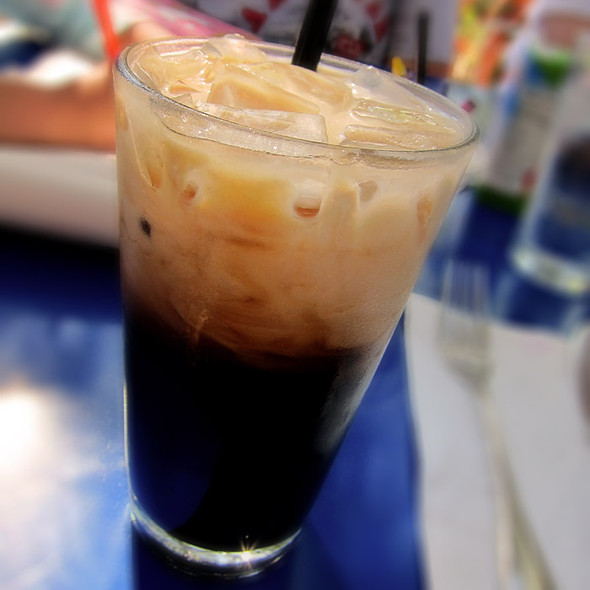 Thai Ice Coffee - Novo Restaurant, San Luis Obispo, CA
