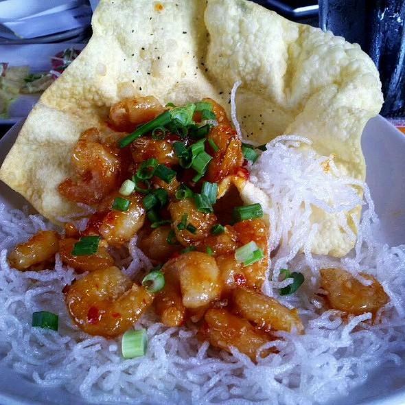 Sweet & Spicy Shrimp - Kona Grill - Houston, Houston, TX