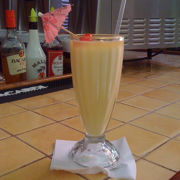 "The ""Original"" Pina Colada - Barrachina, San Juan, PR"