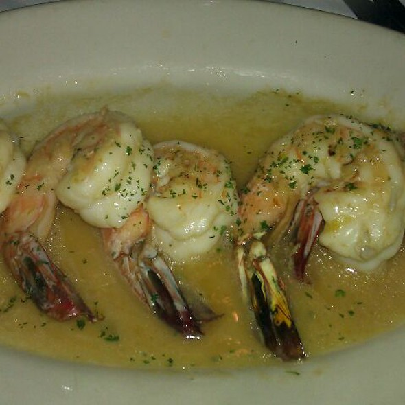 Shrimp Scampi - Monty's Steakhouse, Woodland Hills, CA