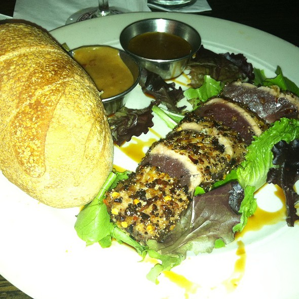 Pepper Seared Ahi Tuna - Jonah's Seafood House, East Peoria, IL