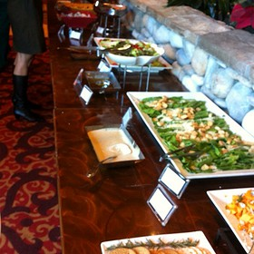 Salad Bar - Rocky River Grille, Concord, NC