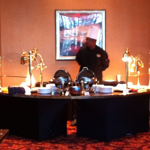 Turkey And Pork Station - Rocky River Grille, Concord, NC