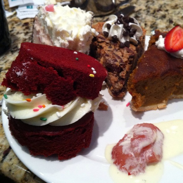 dessert buffet - Rocky River Grille, Concord, NC