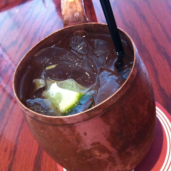 Moscow Mule - Sly's, Carpinteria, CA