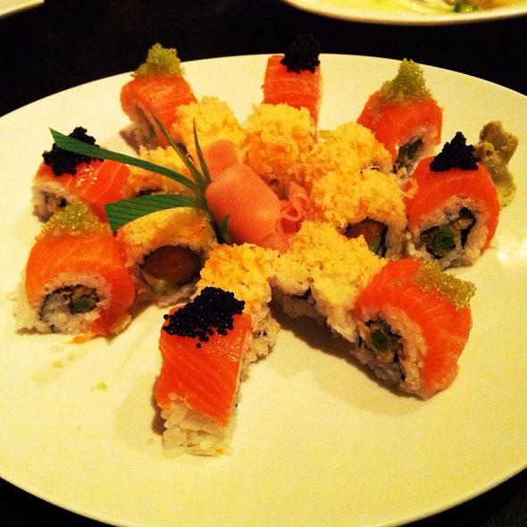 Halloween Roll + Spicy White Tuna Crunch - Hachi's Kitchen, Chicago, IL