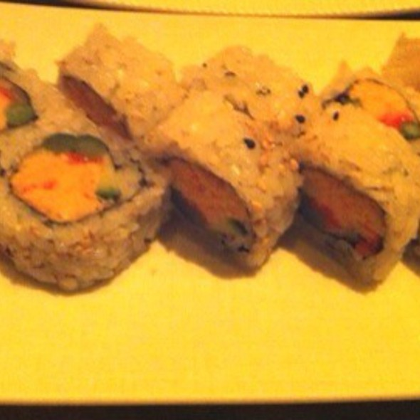 Poprock Spicy Shrimp Roll - Yellowtail - Bellagio, Las Vegas, NV