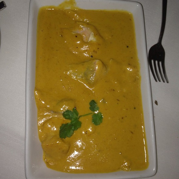 Salmon With Curry Sauce - Copper, Charlotte, NC