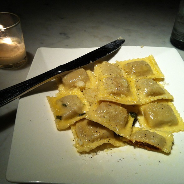 Pumpkin Ravioli - Cellar 58, New York, NY