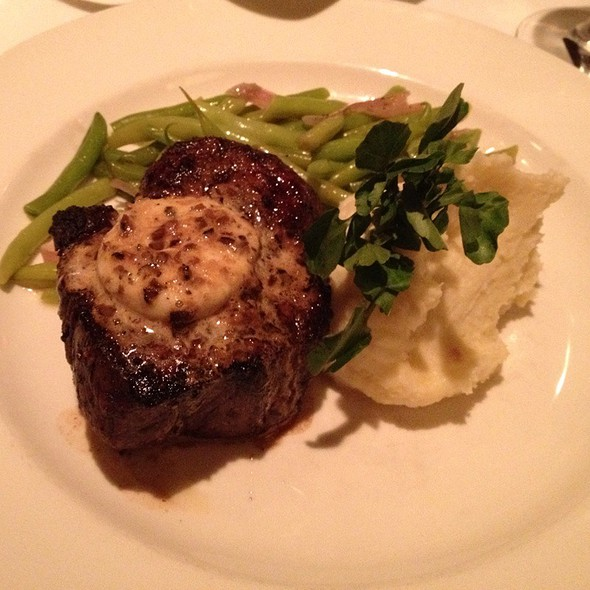 Filet Mignon With Truffle Butter - Hanover Street Chophouse, Manchester, NH