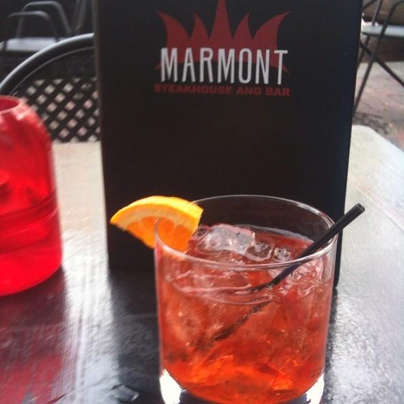 Negroni - Marmont Steakhouse, Philadelphia, PA
