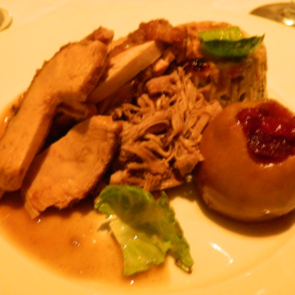 Roasted Turkey - Brasserie 8 1/2, New York, NY