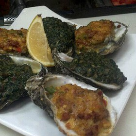 Baked Oysters - 22 North, Wrightsville Beach, NC