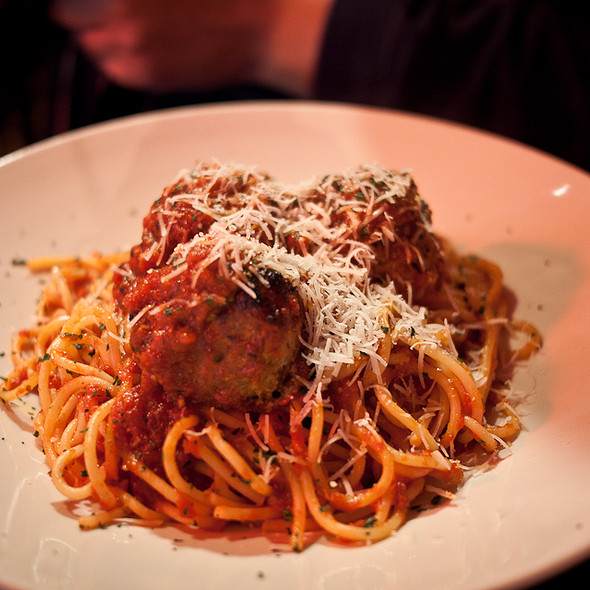 Spaghetti and Meatballs - Gravy, Raleigh, NC