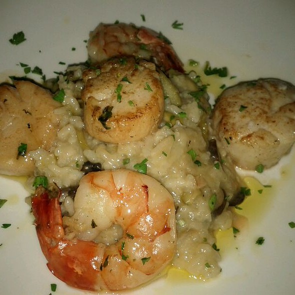 Seafood Risotto - Ammos Estiatorio, New York, NY