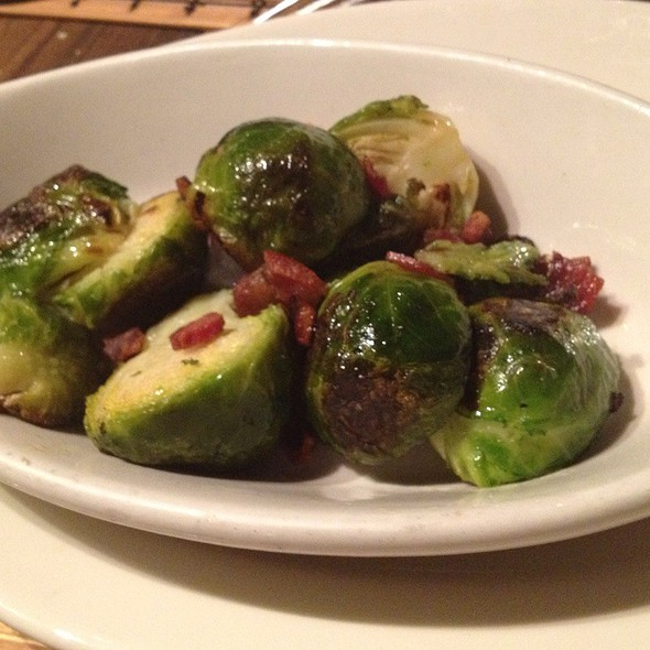 Grilled Brussel Sprouts With Pancetta - Graziano's Miami, Miami, FL
