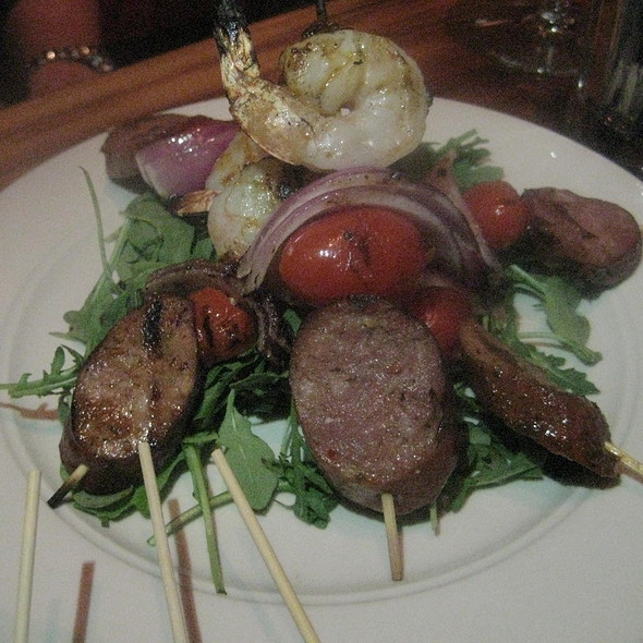 Shrimp and Sausage Skewers - Porkchop - West Loop, Chicago, IL