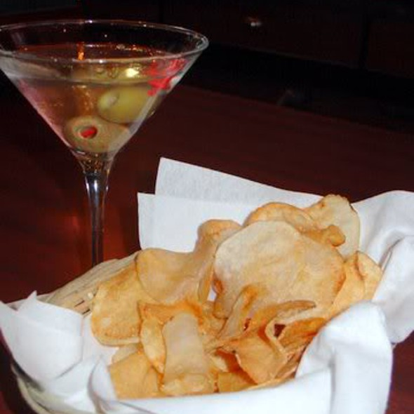 Martini and Chips - Ben and Jack's Steakhouse 44th Street, New York, NY