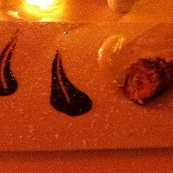 White Chocolate Eggplant Millefoglie - Il Buco, New York, NY