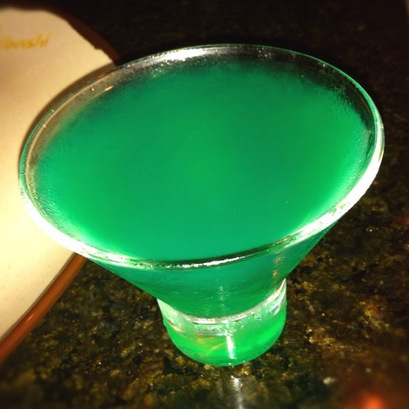 Blue Hawaiian Martini - Hibashi Teppan Grill, Sushi Bar, Dallas, TX