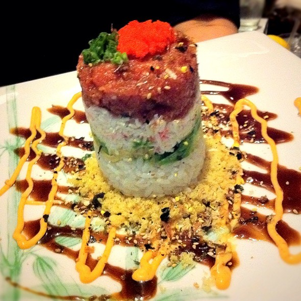 Ahi Tower - Hibashi Teppan Grill, Sushi Bar, Dallas, TX