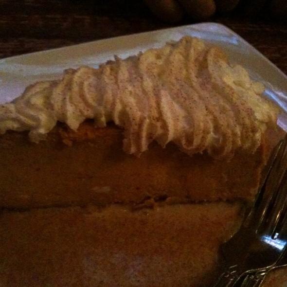 Pumpkin Cheesecake - Champps Americana - Brookfield, Brookfield, WI