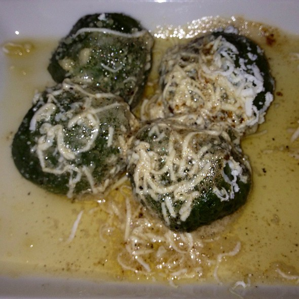 Spinach Gnocchi With Brown Butter - Vetri Cucina, Philadelphia, PA