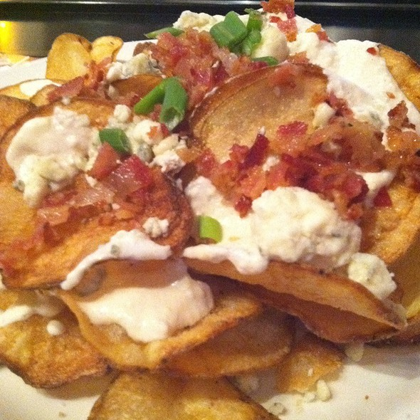 Blue Cheese Chips - Rock Bottom Brewery Restaurant - Yorktown, Lombard, IL