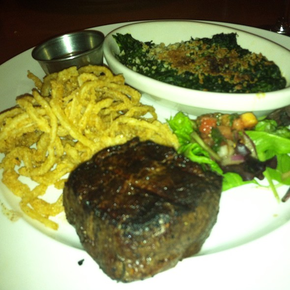 Petit Filet Mignon With Truffle Butter - George Martin's Grillfire, Hanover, MD