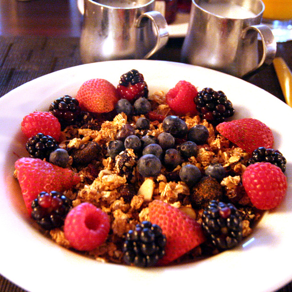 Chopra Granola - Blue Fire Grill at Omni La Costa Resort & Spa, Carlsbad, CA
