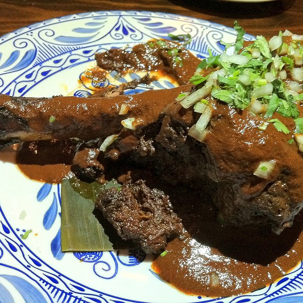 Chamorro de Cordero - Consuelo Mexican Bistro, San Jose, CA